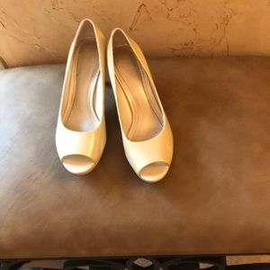 Alex Marie peep toe pumps.  Size 8.